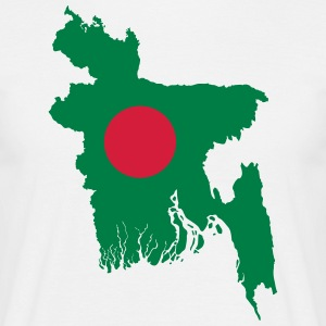 Bangladesh - T-skjorte for menn