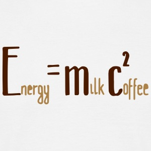 Energy Milk Coffee - Männer T-Shirt
