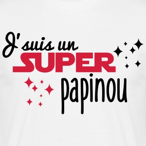 I'm a super papinou - Men's T-Shirt