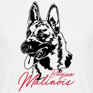 Belgian Malinois - Men's T-Shirt