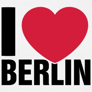 I love Berlin! - Mannen T-shirt