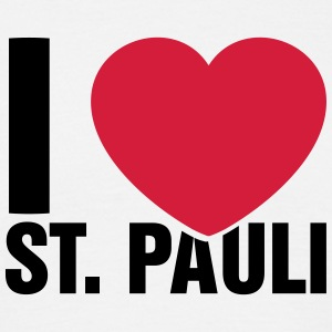 I love St Pauli! - Men's T-Shirt