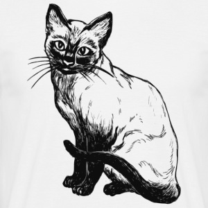 SIAM CAT COLLECTION - T-shirt Homme