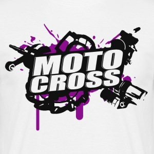 Motocross Supermoto Enduro Vol.I p / b - Mannen T-shirt
