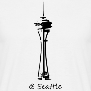 Seattle - T-shirt herr