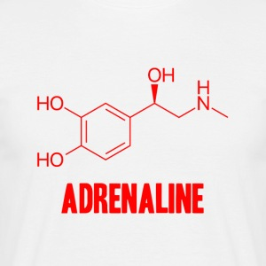 Adrenaline - T-skjorte for menn