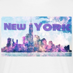 New York - T-shirt herr
