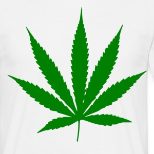 Weed symbool - Mannen T-shirt