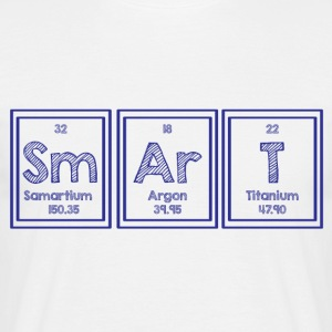 Periodic table: Sm Ar T - Smart - Men's T-Shirt