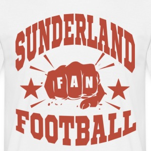 Sunderland Football Fan - T-shirt herr