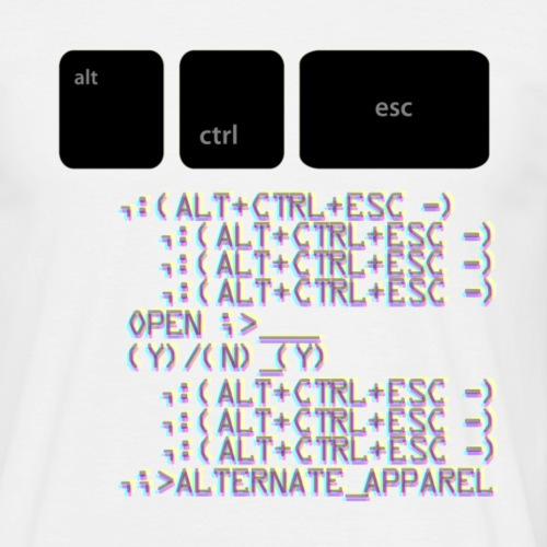 Alternate Control & Escape - Men's T-Shirt