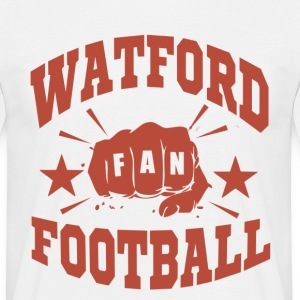 Watford Football Fan - T-shirt herr