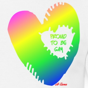 Proud To Be Gay - Mannen T-shirt
