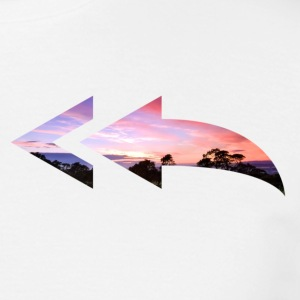 color arrow - Mannen T-shirt