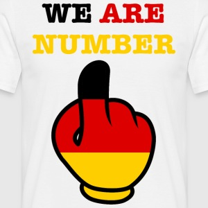 Germany Germany WE ARE NUMBER 1 - Men's T-Shirt
