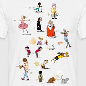 pupsparty - Herre-T-shirt