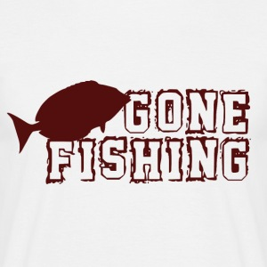 Gone Fishing - Pesca Addict - Maglietta da uomo