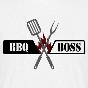 BBQ BOSS - Herre-T-shirt