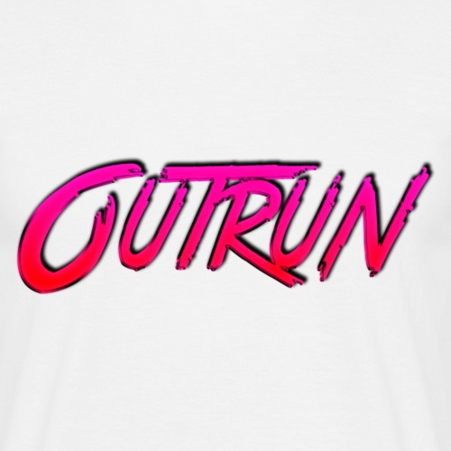 Outrun - Mannen T-shirt