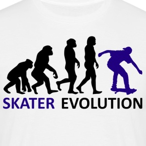 ++ ++ Skater Evolution - T-skjorte for menn