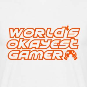 Gamer - Okay gamers - Mannen T-shirt