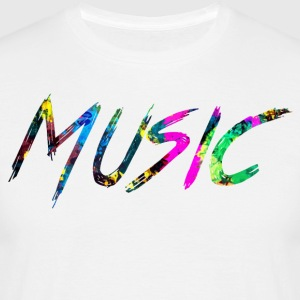 rainbow Music - Men's T-Shirt