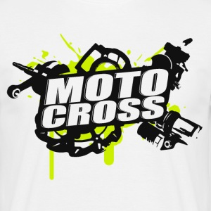 Motocross Supermoto Enduro Vol.I g / b - Herre-T-shirt