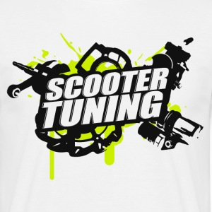 SCOOTERTUNING G / B - T-shirt Homme