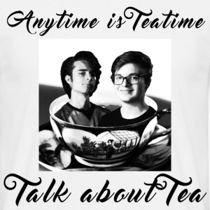 Anytime is tea time - Men's T-Shirt
