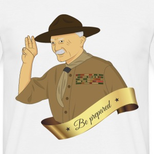 bp_be_prepared - T-shirt herr