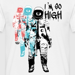 Cannabis cosmos so high - Men's T-Shirt