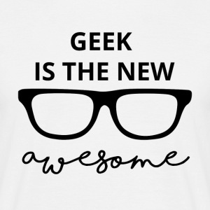 Geek er den nye awesome! - Herre-T-shirt