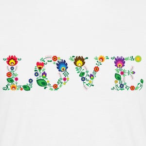 LOVE (horizontal) - T-shirt Homme