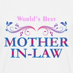 World Best Mother in law - Men's T-Shirt