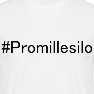 #Promillesilo - T-skjorte for menn