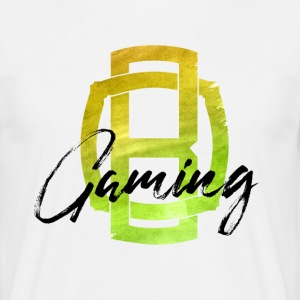 OB Gaming / Black lette - T-skjorte for menn