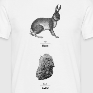 1 Hase FIG. - T-shirt herr