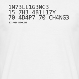intelligens - Herre-T-shirt