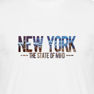 New York - The state of Mind 2 - Men's T-Shirt