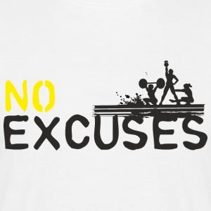 No Excuses - sport n'est pas assassiner - T-shirt Homme