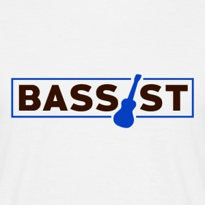 Bassist - Musikk Passion - T-skjorte for menn