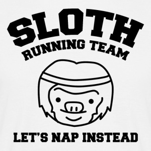Sloth Team Rolig skjorta - T-shirt herr