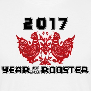 2017 Year Of The Rooster - Men's T-Shirt