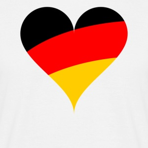 heart Germany - Men's T-Shirt