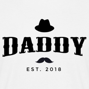 DADDY est. 2018 - T-skjorte for menn