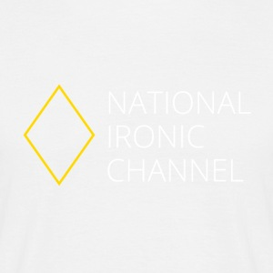 Ironic National Channel - Long Sleeve T-Shirt - Men's T-Shirt