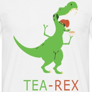 TEA REX - Mannen T-shirt