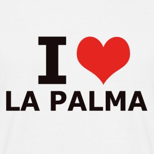 I LOVE LA PALMA - Men's T-Shirt
