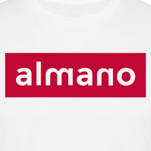 almanoRED - Men's T-Shirt