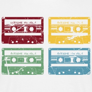 RETRO CASSETTE SET - Men's T-Shirt
